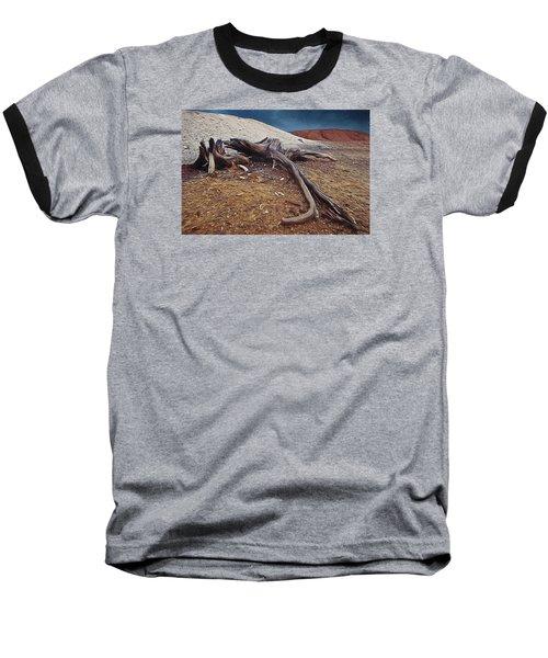 Abandoned Quarry Baseball T-Shirt
