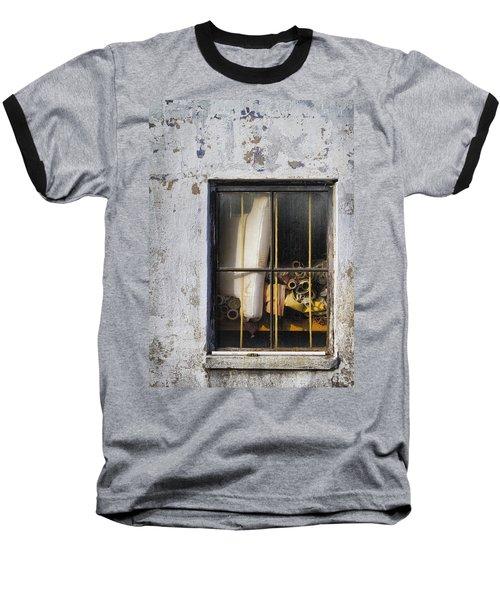 Abandoned Remnants Ala Grunge Baseball T-Shirt