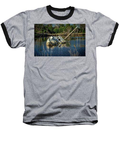 Abandoned Ship Baseball T-Shirt