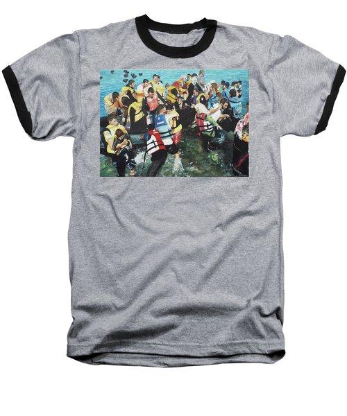 Abandoned Souls Baseball T-Shirt