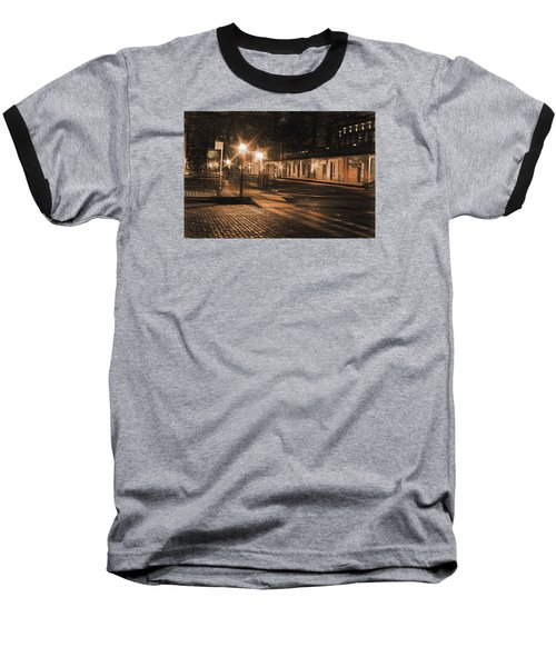 Baseball T-Shirt featuring the photograph Abandoned Street by Michael Cleere