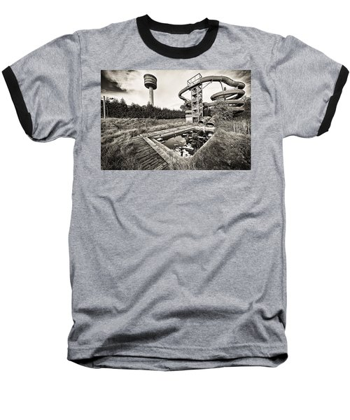 Abandoned Swimming Pool - Lost Places Baseball T-Shirt