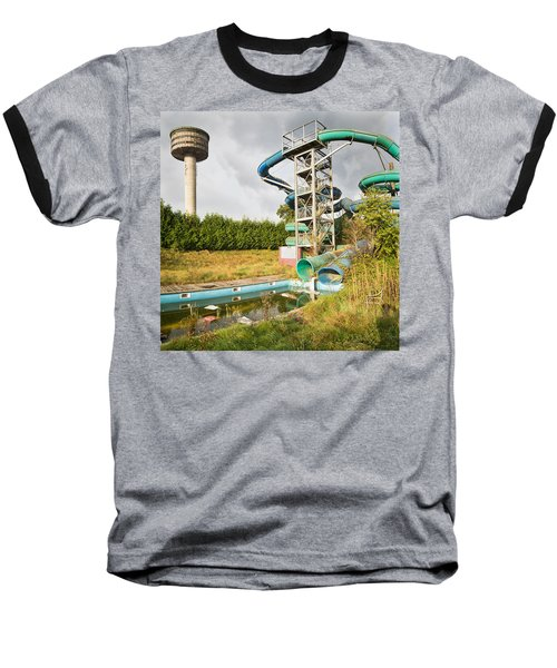 abandoned swimming pool - Urban exploration Baseball T-Shirt