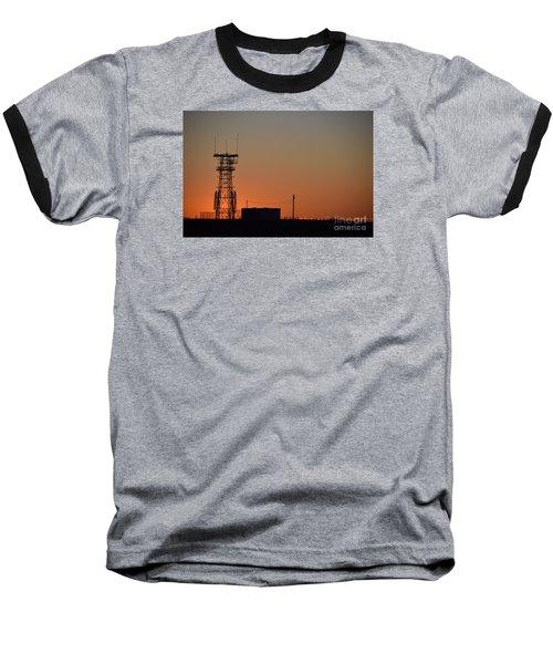 Abandoned Tower Baseball T-Shirt