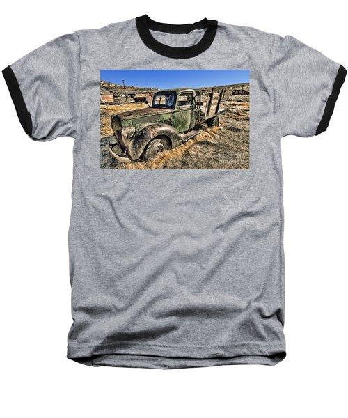 Abandoned Truck Baseball T-Shirt