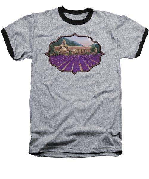 Abbaye Notre-dame De Senanque Baseball T-Shirt by Anastasiya Malakhova