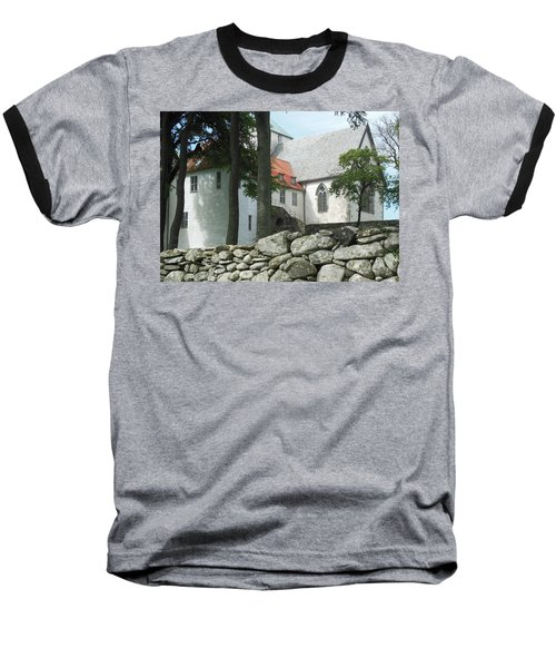 Abbey Exterior #2 Baseball T-Shirt