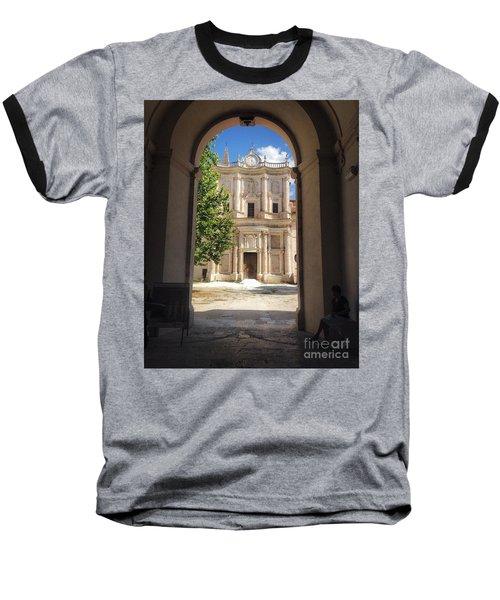 Abbey Of The Holy Spirit At Morrone In Sulmona, Italy Baseball T-Shirt