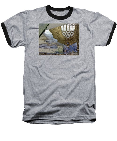 Abbey Ruins - Edinburgh Baseball T-Shirt