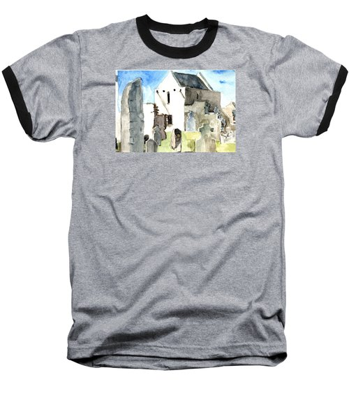 Abbey Watercolor Baseball T-Shirt
