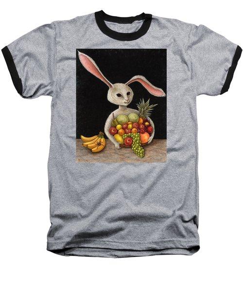 Abbondanza Baseball T-Shirt by Holly Wood