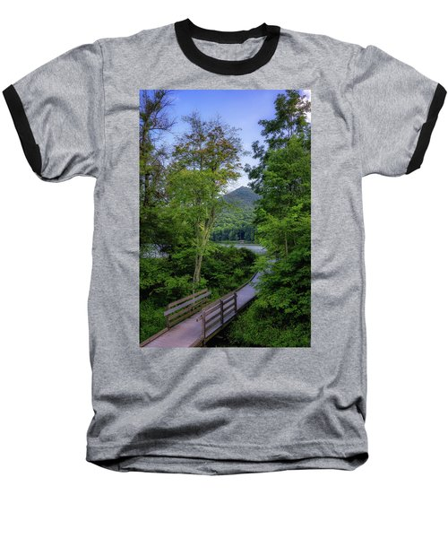 Abbott Lake Trail Baseball T-Shirt