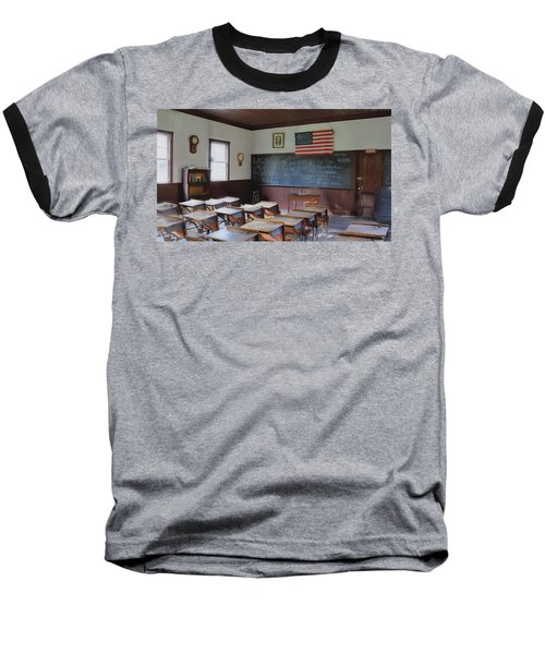 Baseball T-Shirt featuring the digital art Abc's Of Learning by Sharon Batdorf