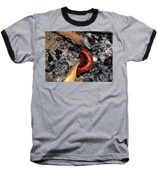 Aberdare Charcoal Baseball T-Shirt