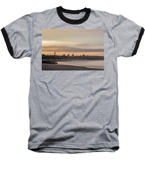 Aberdeen Beach At Sunset Baseball T-Shirt