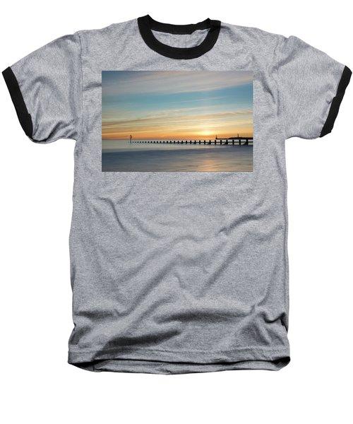 Aberdeen Beach Sunrise Baseball T-Shirt