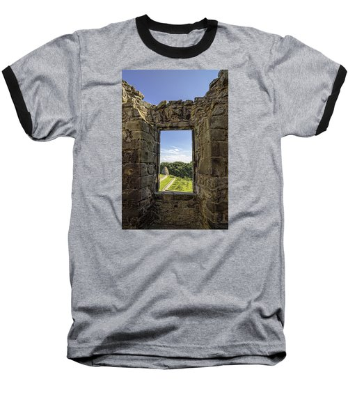 Baseball T-Shirt featuring the photograph Aberdour Castle by Jeremy Lavender Photography