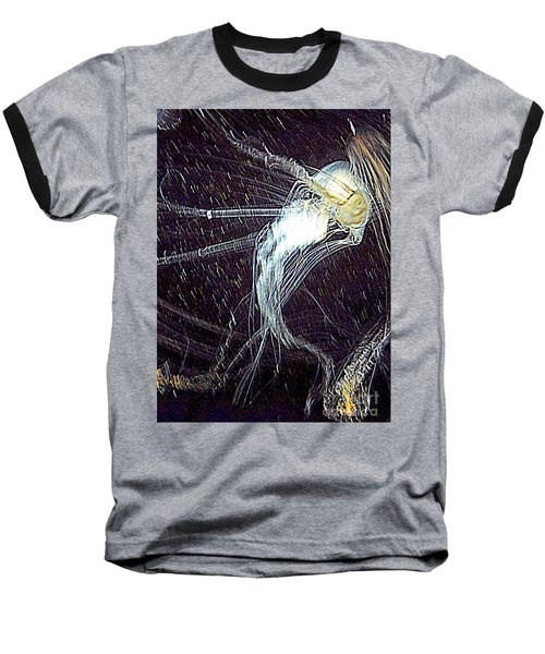 Baseball T-Shirt featuring the photograph Aberration Of Jelly Fish In Rhapsody Series 2 by Antonia Citrino
