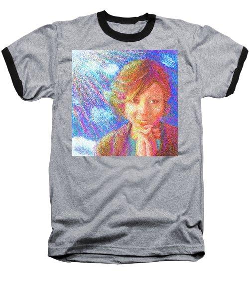 Abiding In Faith Baseball T-Shirt