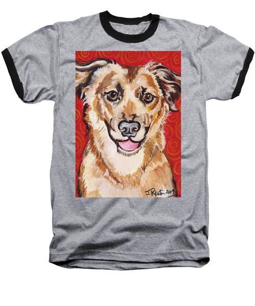 Abigail Baseball T-Shirt by John Keaton
