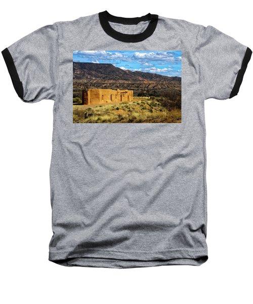 Abiquiu Church Baseball T-Shirt by Robert FERD Frank