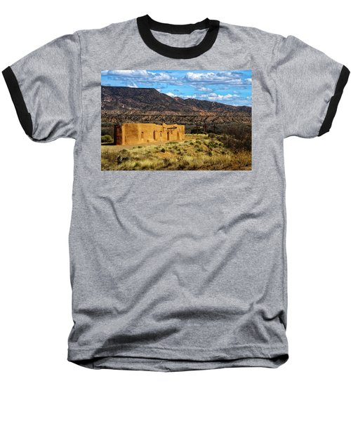 Abiquiu Church Baseball T-Shirt