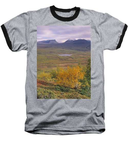 Abisko Nationalpark Baseball T-Shirt by Thomas M Pikolin