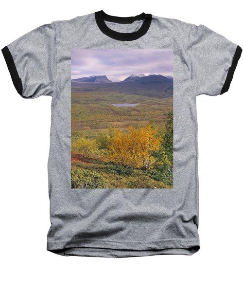 Abisko Nationalpark Baseball T-Shirt