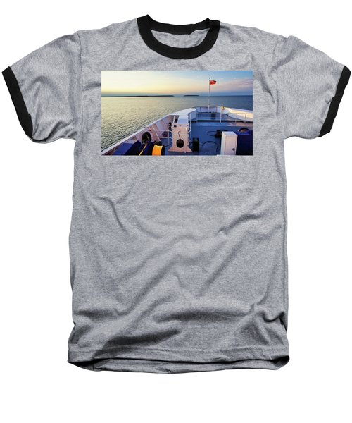 Aboard The Chi-cheemaun Baseball T-Shirt