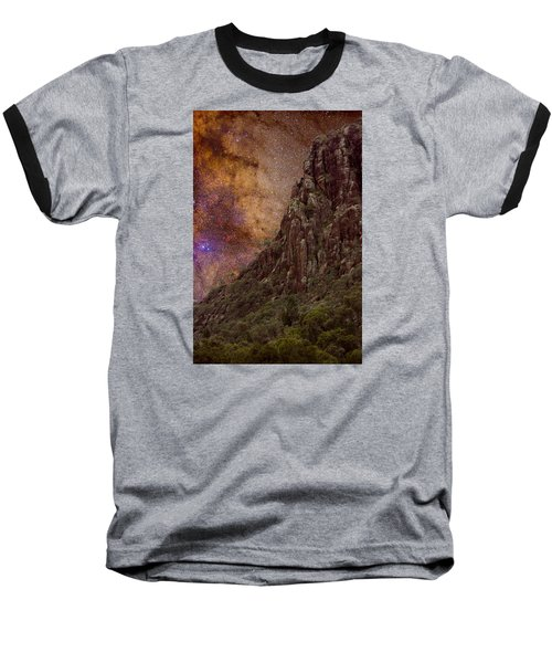 Baseball T-Shirt featuring the photograph Aboriginal Dreamtime by Charles Warren