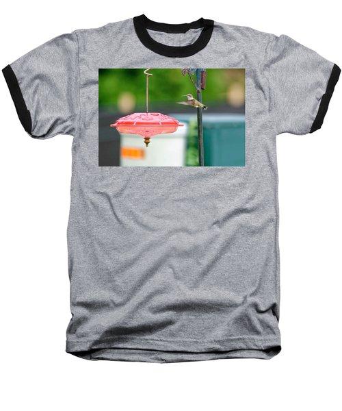 About To Land Baseball T-Shirt