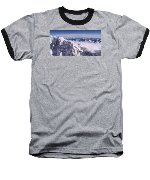 Above Denali Baseball T-Shirt