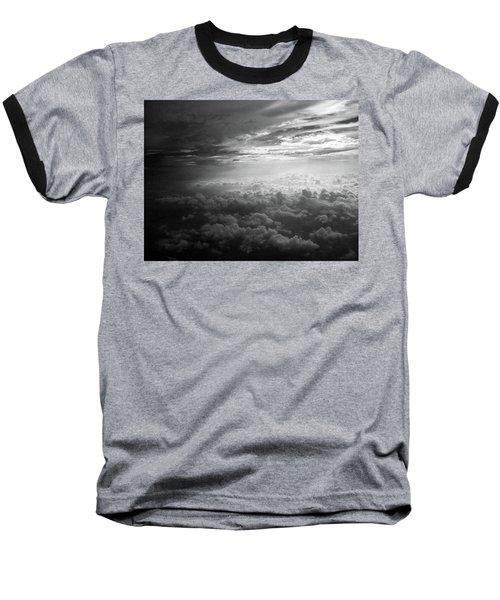 Above Earth 3 Baseball T-Shirt
