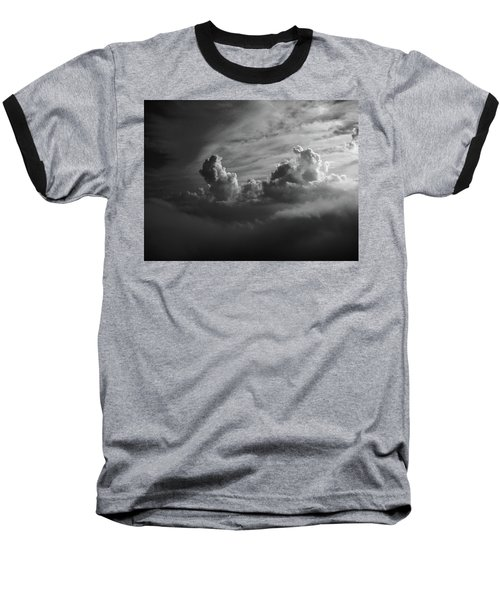 Above Earth 4 Baseball T-Shirt by Cedric Hampton