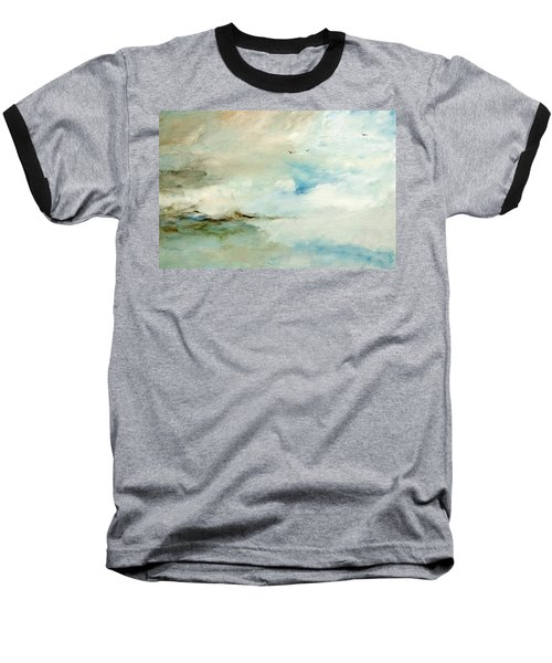 Above It All Baseball T-Shirt by Dina Dargo