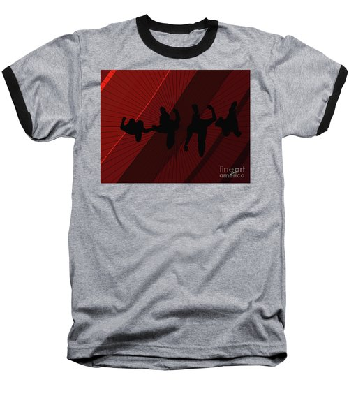Above Perspective Baseball T-Shirt