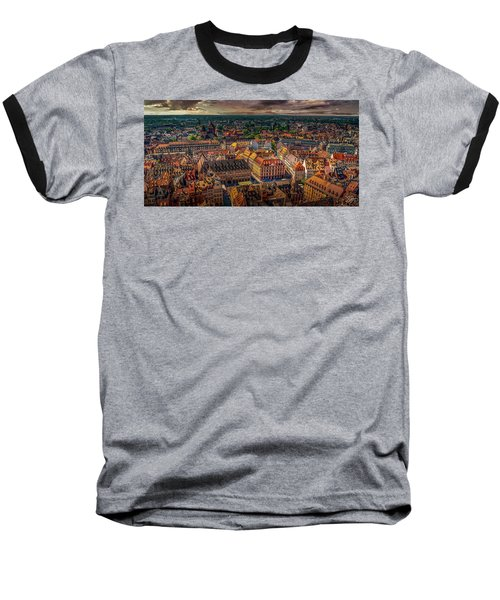 Above Strasbourg Baseball T-Shirt