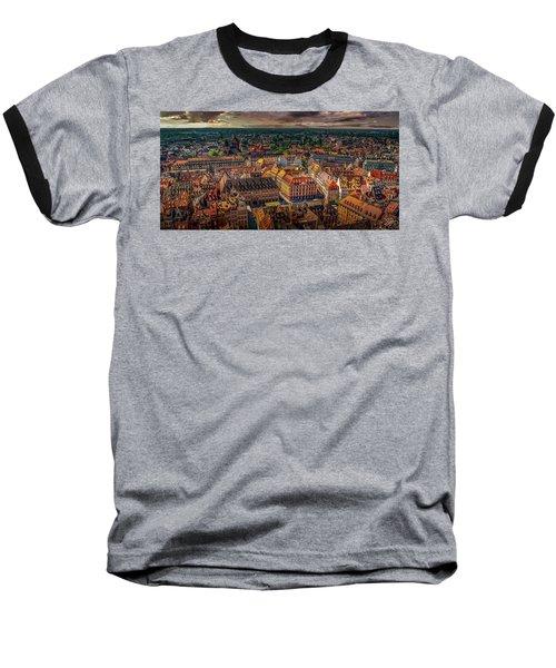 Above Strasbourg Baseball T-Shirt
