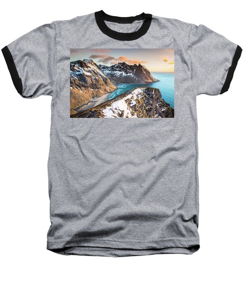 Above The Beach Baseball T-Shirt