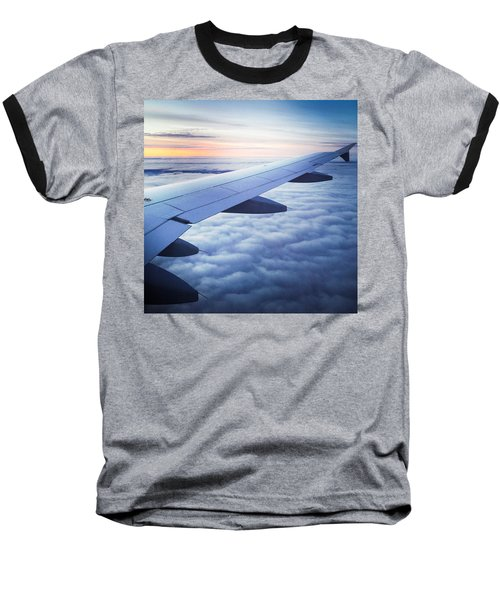 Above The Clouds 01 Baseball T-Shirt