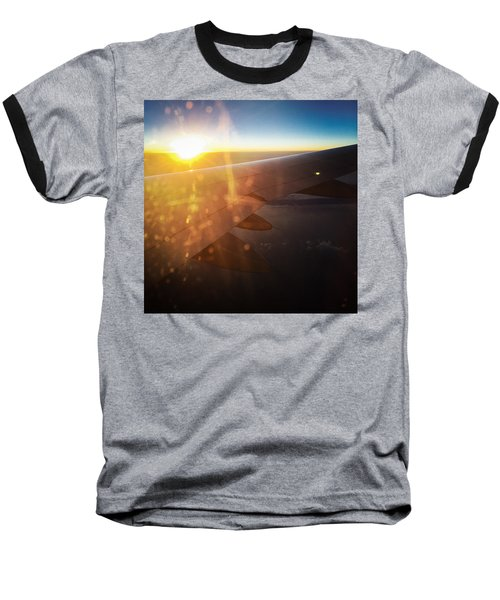 Above The Clouds 03 Warm Sunlight Baseball T-Shirt