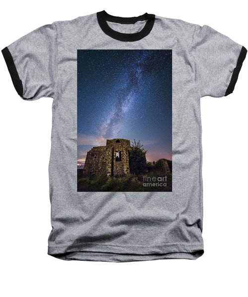 Above The Cuba Baseball T-Shirt by Giuseppe Torre