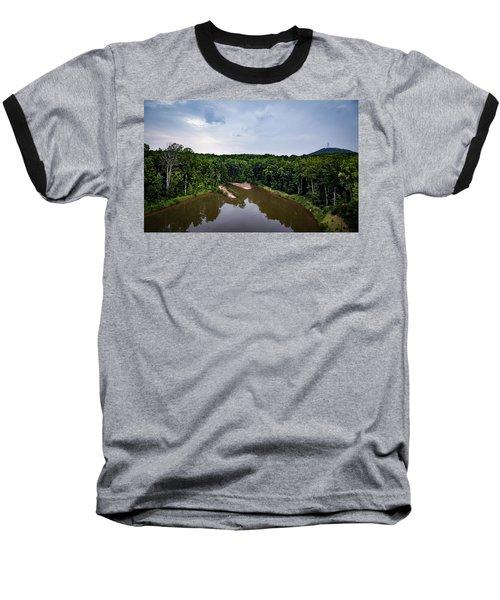 Above The Lake Baseball T-Shirt
