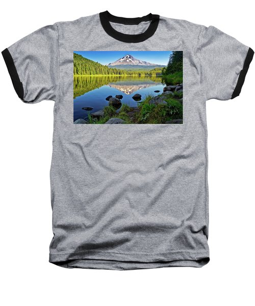 Above The Lake Baseball T-Shirt