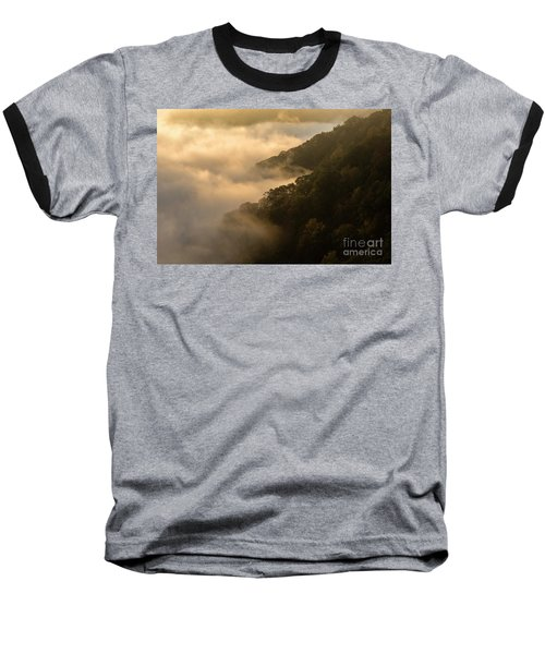 Baseball T-Shirt featuring the photograph Above The Mist - D009960 by Daniel Dempster