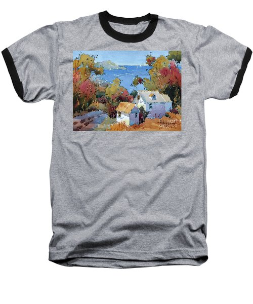 Above The Pacific Baseball T-Shirt