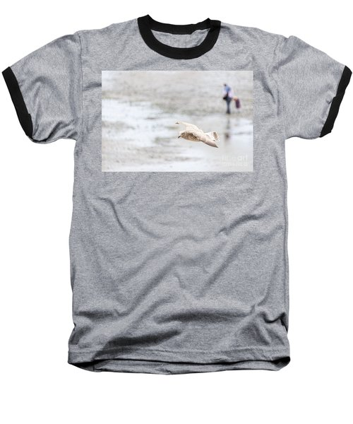 Baseball T-Shirt featuring the photograph Above The Watten Sea 2 by Hannes Cmarits