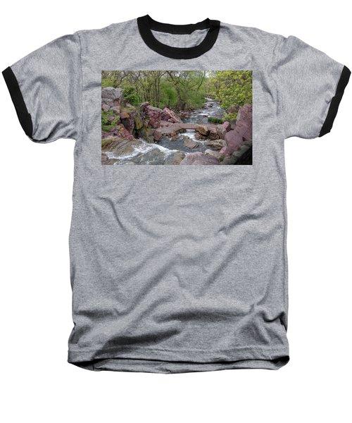 Above Winnewissa Falls 2 Baseball T-Shirt