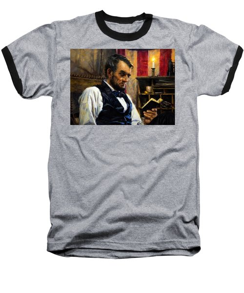 Abraham Lincoln 16 Baseball T-Shirt