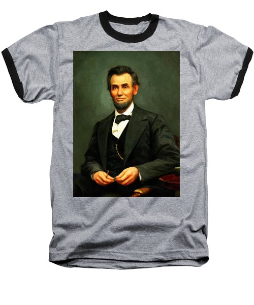 Abraham Lincoln 17 Baseball T-Shirt
